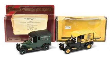 Matchbox Models of Yesteryear Y5 Talbot Van Code 2 Issues